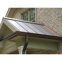 Designer Copper Aluminum Gutters