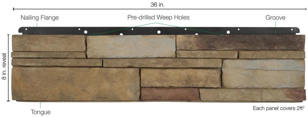 Versetta Stone Panel