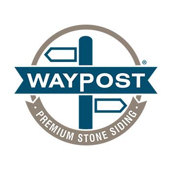 Waypost Stone Siding Logo